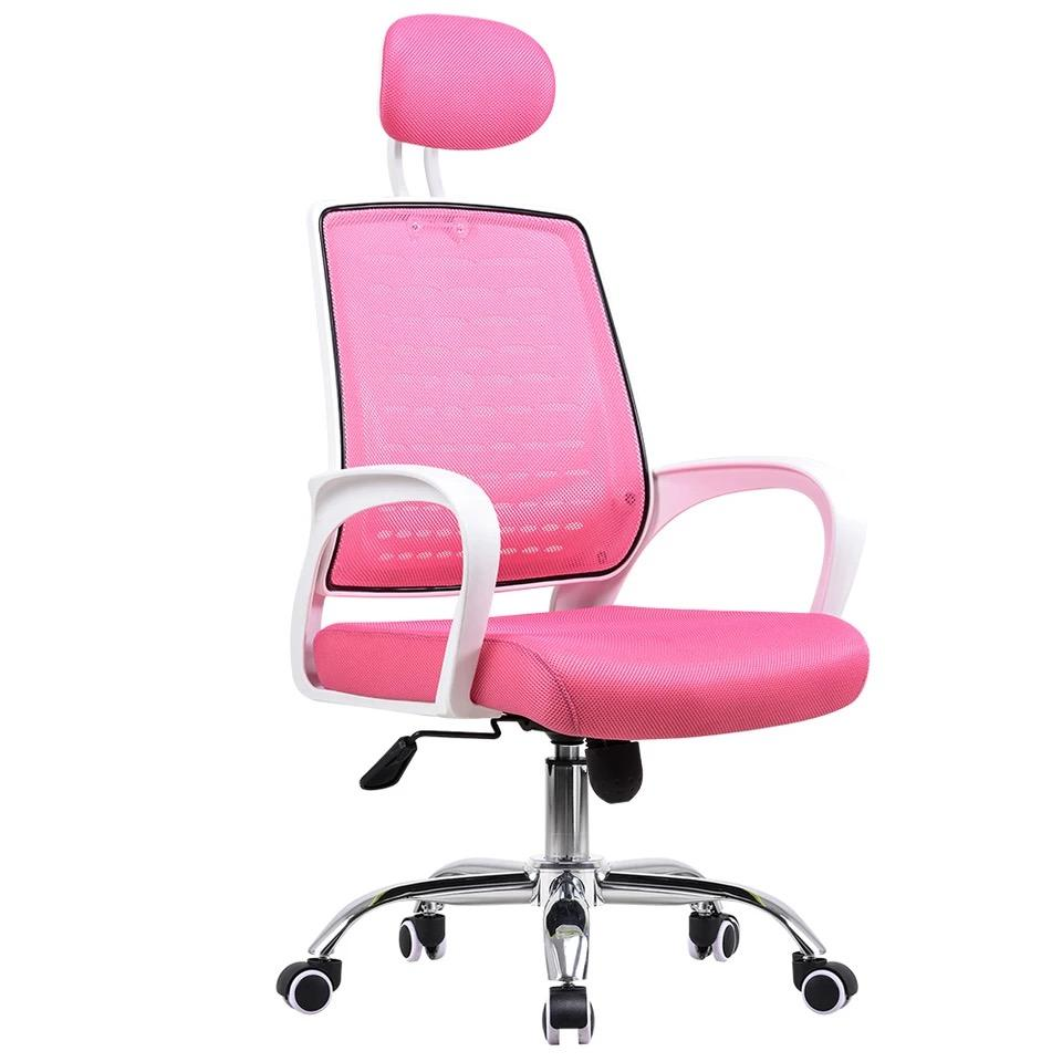 Pink Office Chairs Free Installation 1 Year Warranty Umd Ergonomic Full Backing Mesh Office Chair W Series