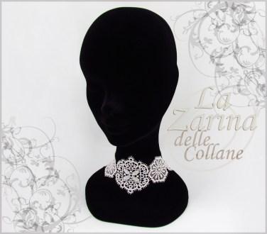 collane sposa, collarini, gioielli sposa, collarino swarovski, gioielli pizzo,