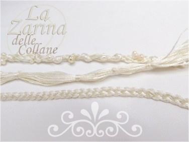 Collana da Sposa in filo e perle