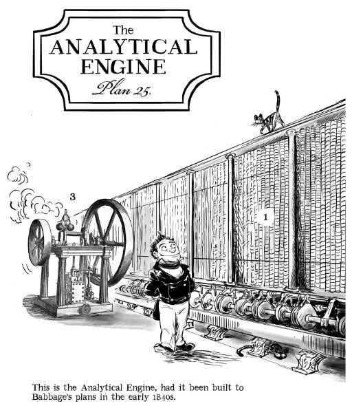 Analytical Machine comic