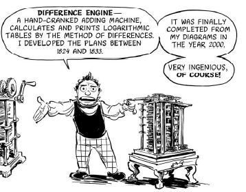 Difference Machine comic