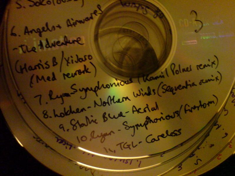 This CD is a constant reminder of my fallability
