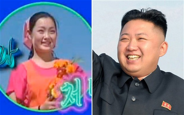 Image result for kim jong un and Singer Hyon Song-wol