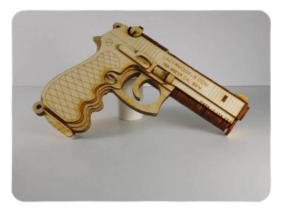 Wood Model 9MM Kit By-LazerModels