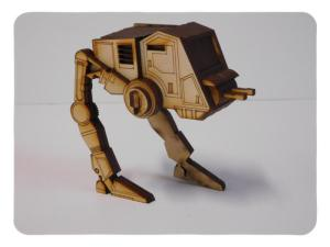 Wood Model Mini ATPT Puzzle Kit By-LazerModels