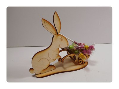 Bunny-with-Candy LazerModels Wood Kit