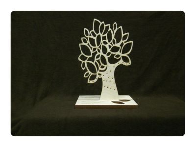 Wood Model Jewelry Tree Kit By-LazerModels