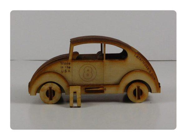 Wood Model Mini Bug Puzzle Kit By-LazerModels