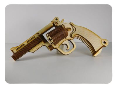 Wood Model Revolver Kit Deal By-LazerModels