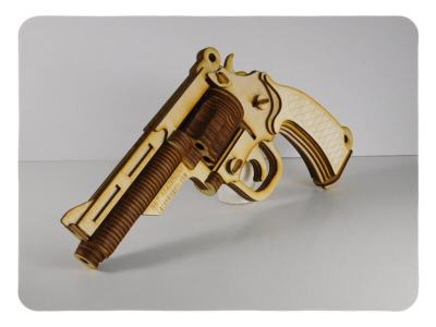 Wood Model Revolver Kit Deal By-LazerModels