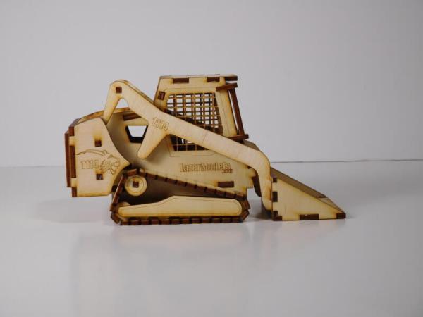 Wood Model Bobcat Kit By-LazerModels
