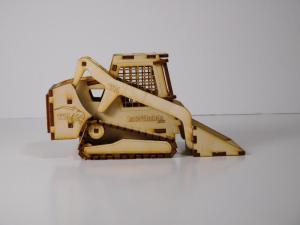 Wood Model Bobcat Kit By-LazerModels