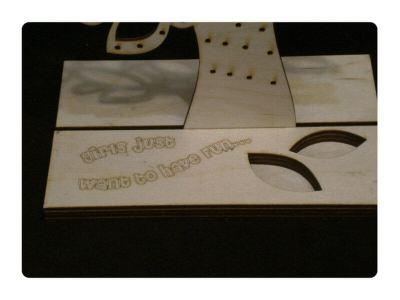 Wood Model Jewelry Tree Kit By-LazerModels
