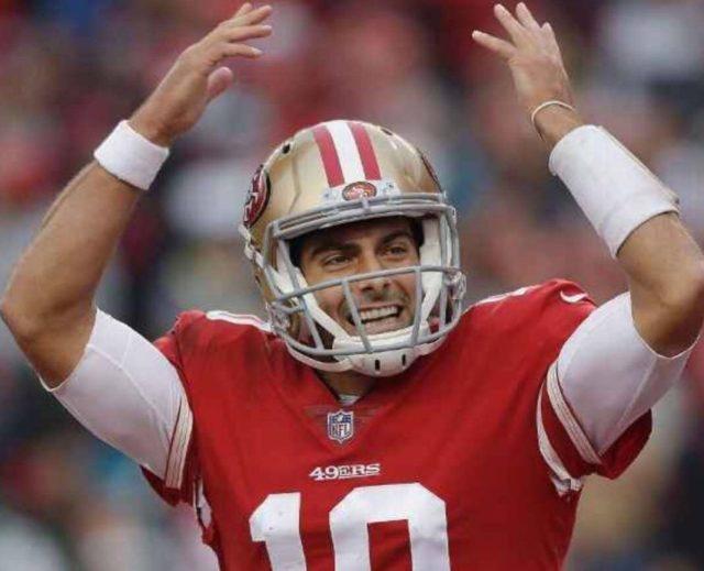 49ers no debe dudar por Jimmy Garappolo