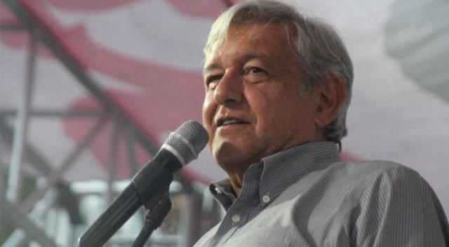"""""""Yo no sabía"""" dice López Obrador sobre posible candidatura de Fausto Vallejo por Morena"""