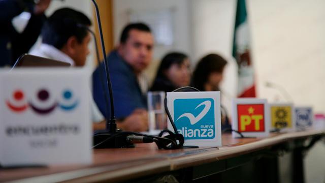 Partidos políticos van al 2018 por más de 150