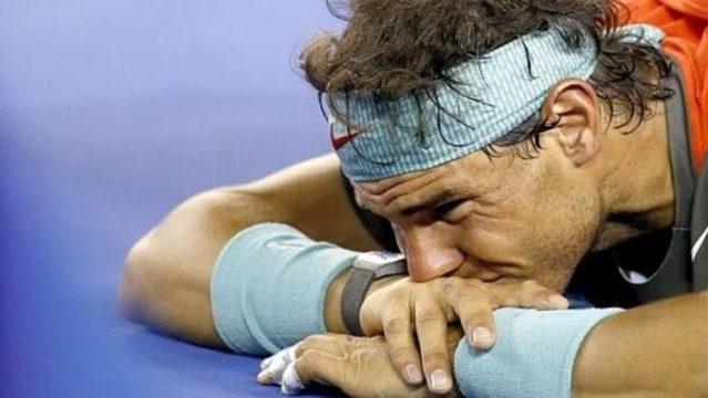 Rafael Nadal se baja del Abierto Mexicano de Tenis.