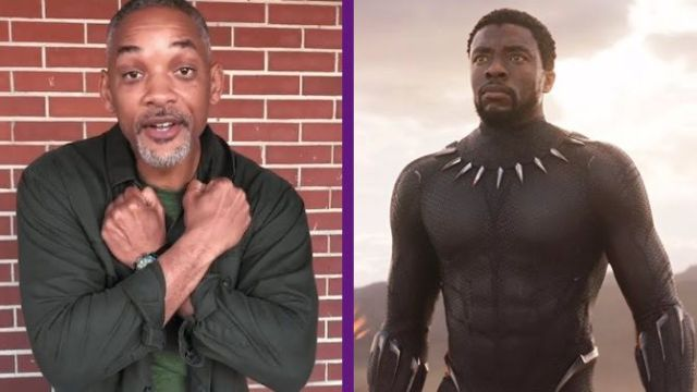 Casi lloro con Black Panther: Will Smith.