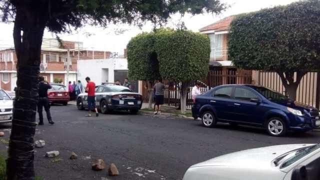 Mujer fallece en incendio de casa en la colonia Lomas de Hidalgo, en Morelia