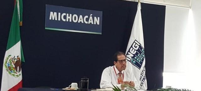 Nombran a Michoacán Vocal del Grupo Centro-Sur del Sistema Nacional de Información Estadística y Geográfica