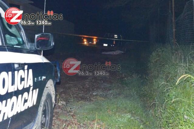 En emboscada a balazos asesinan a 2 hombres en Uruapan