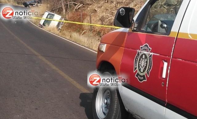 Pistoleros matan a hombre tras emboscada en el municipio de Zitácuaro