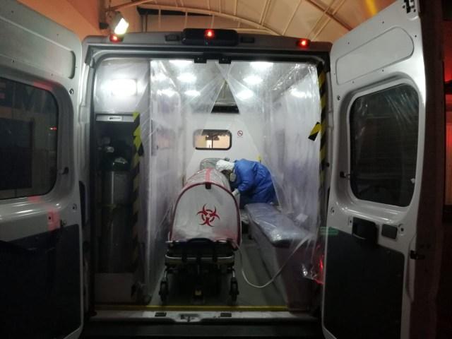 Realiza SSM con éxito 128 traslados prehospitalarios de pacientes COVID-19