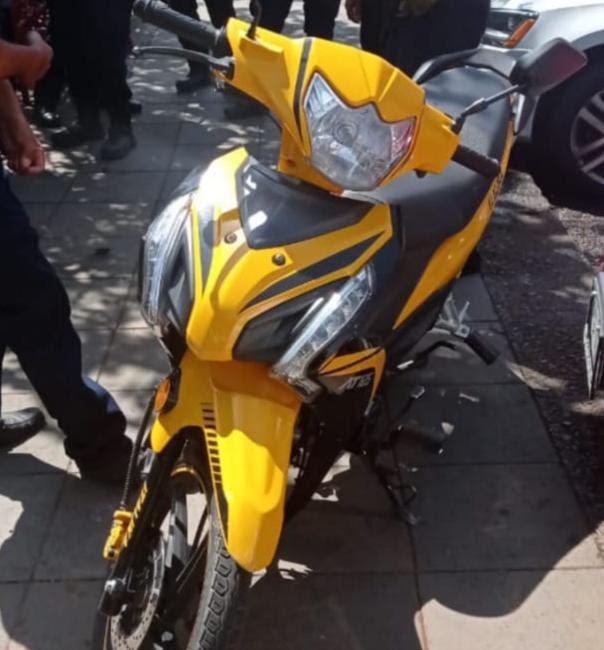 Recupera SSP motocicleta con reporte de robo, en Zamora