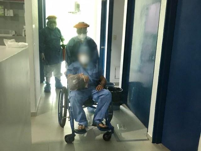 Egresa el tercer paciente de COVID-19 del Hospital Comunitario de Tuzantla