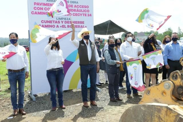 Entrega Gobernador obras a CECYTEM Lagunillas por casi 9 mdp