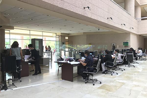 5,787 demandas y promociones recibidas en Morelia desde reapertura de Oficialías de Partes y Turno