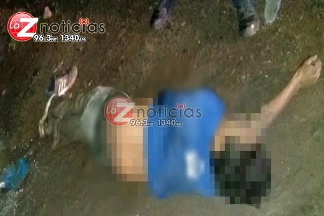 Cadáver baleado es hallado en la Lago 1
