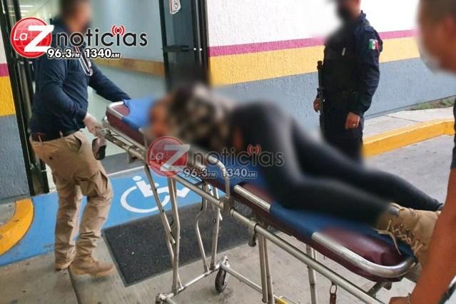 Mujer es herida a balazos en la vía pública de la colonia Ramírez