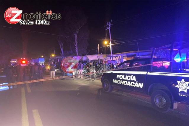 Un presunto delincuente abatido y 3 detenidos tras enfrentamiento contra la Policía Michoacán en Zitácuaro