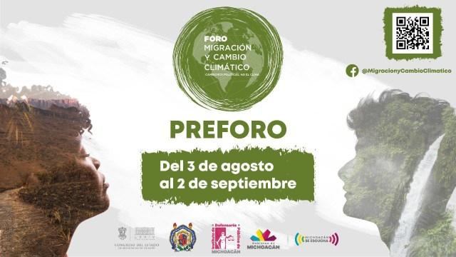 Inicia Foro de Migración y Cambio Climático en Michoacán