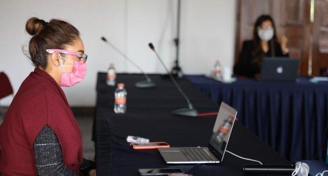 Julieta López  Coordinadora de comunicación del  estado da positivo a covid