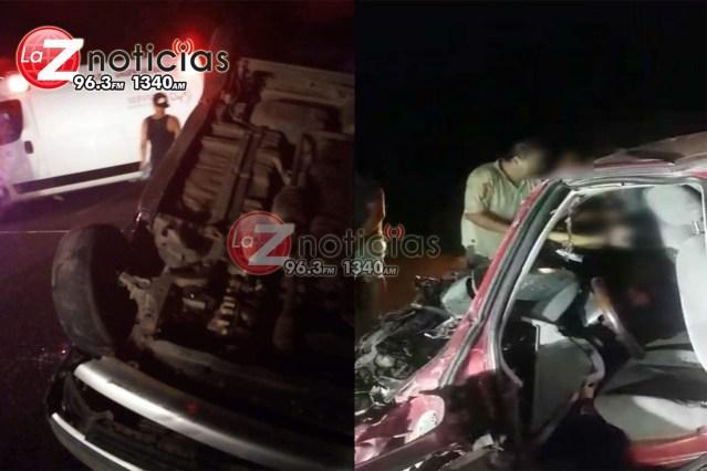 Accidente vial deja media docena de lesionados en Lázaro Cárdenas