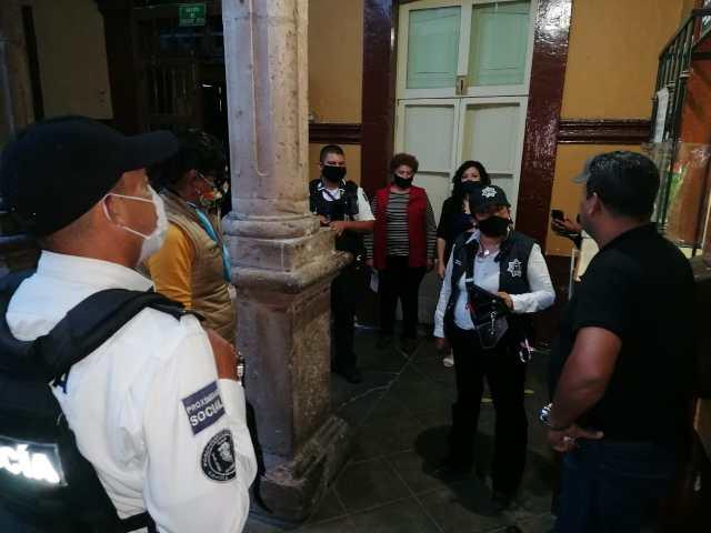 Policía Morelia implementa programa «Vecino Vigilante», en el Centro Histórico