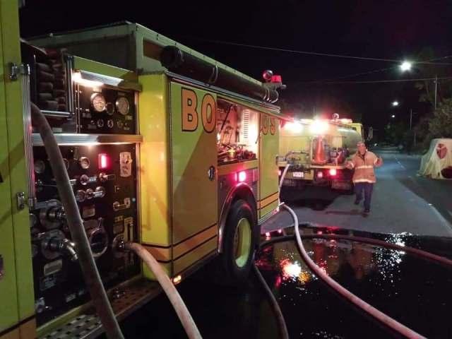 Arde restaurante en la colonia Obrera de Morelia