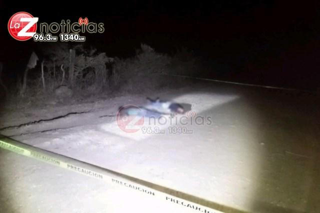 Ejecutan a dos hombres en brecha de Tangamandapio