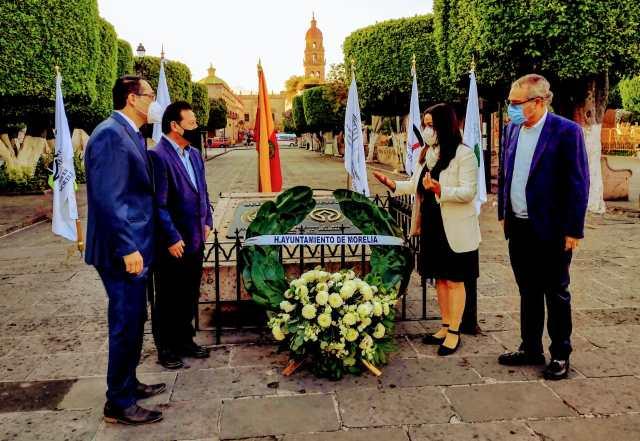 Cumple Centro Histórico de Morelia 29 años como Patrimonio Mundial