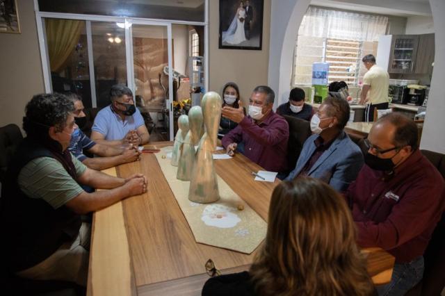 Acuerda Raúl Morón diálogo permanente con vecinos por obra en Siervo de la Nación