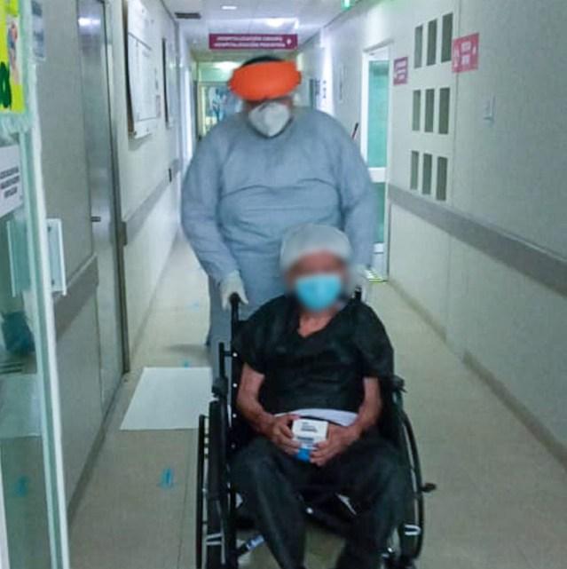 Paciente de 83 años vence COVID-19 en Hospital General de Apatzingán