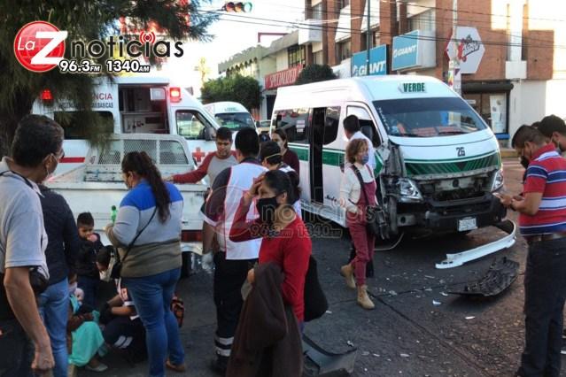 Accidente múltiple en la Chapultepec Norte deja 8 heridos