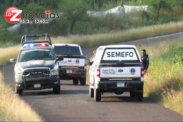 Localizan a un ejecutado en carretera de Tangancícuaro