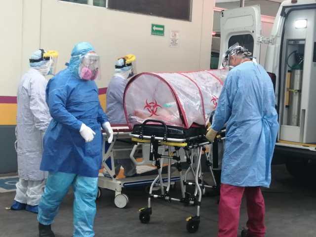 Reporta Hospital General La Piedad 100% de ocupación de camas COVID-19