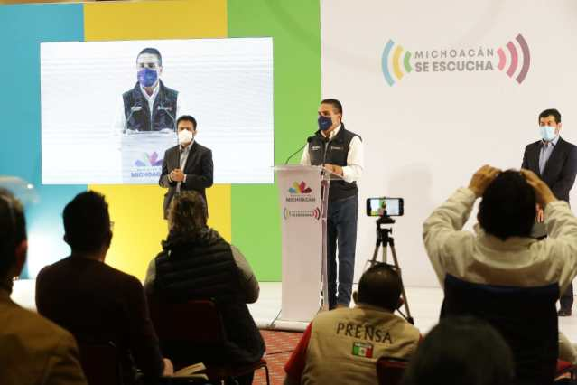 Amplía Gobernador medidas sanitarias contra COVID-19 en Michoacán