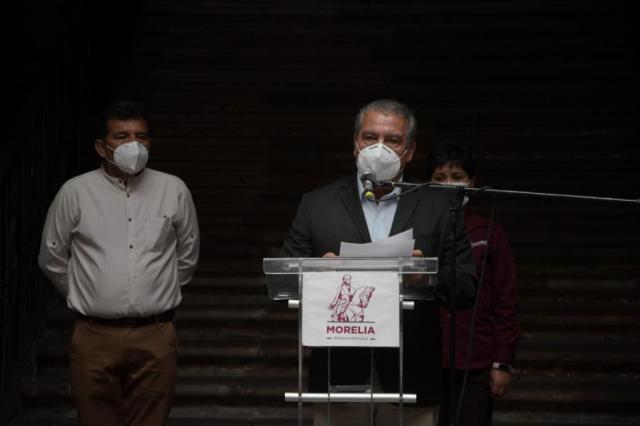 Próximo lunes, arranca Gobierno de Morelia recepción de documentos para entrega de recargas y tanques de oxígeno