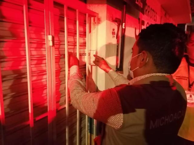 Suspendidos nueve establecimientos por incumplir medidas en Morelia