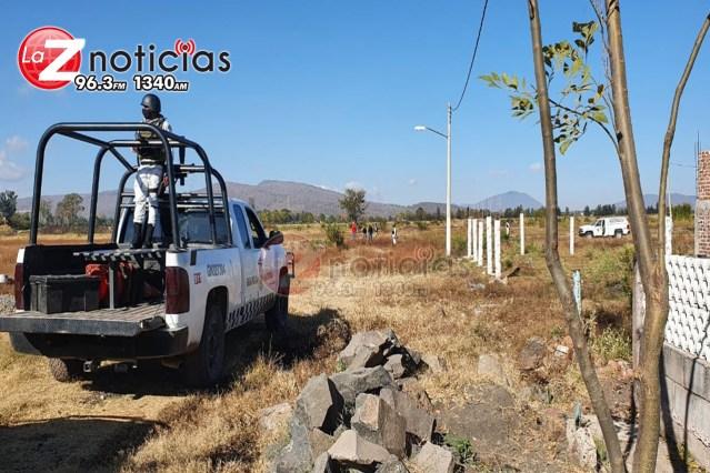 Hallan cadáver calcinado y semienterrado en la colonia Nezahualcóyotl de Zamora